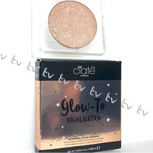 2/$15 Ciate Glow To Highlighter Moondust NEW